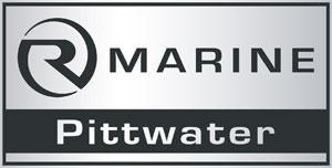 r marine pittwater logo